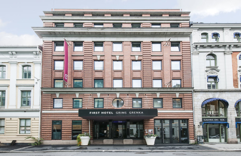 Exterior view of First Hotel Grims Grenka.