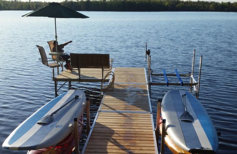 Rental dock at Redman Rental Group.