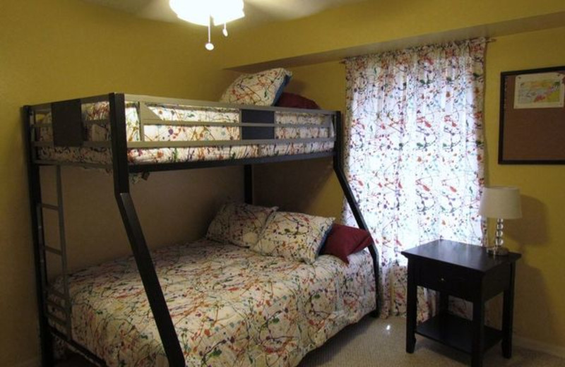 Kid's room at Long Key Vacation Rentals
