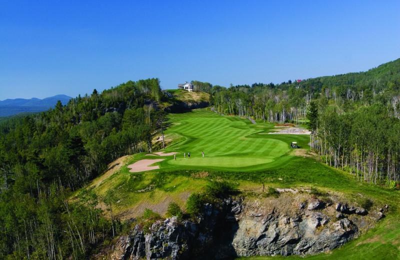 Golf course at Fairmont Le Manoir Richelieu.