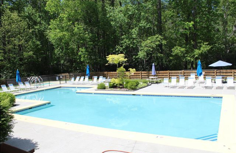 Rental pool at Mountain Lake Rentals.