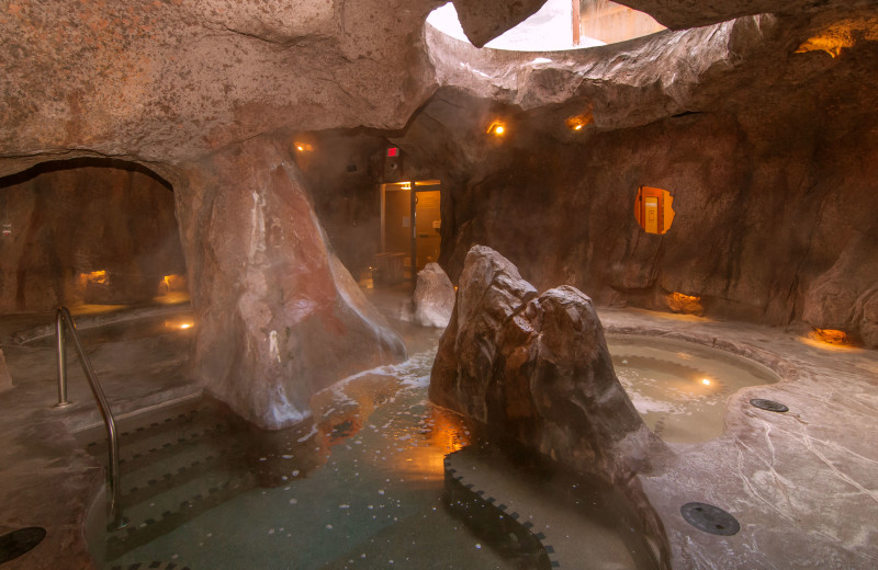 Spa at The Fox Hotel & Suites in Banff.