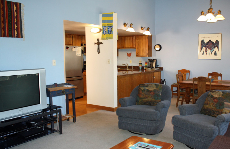Guest room at Ferringway Condominiums.