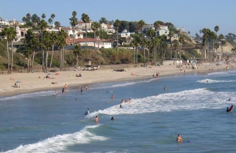 Beach near San Clemente Inn Resort & Conference Center.