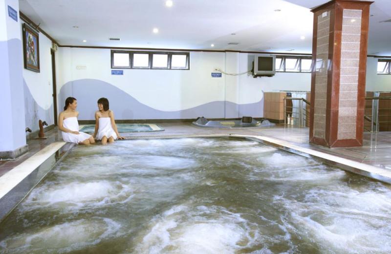 The spa at Asean International Hotel.
