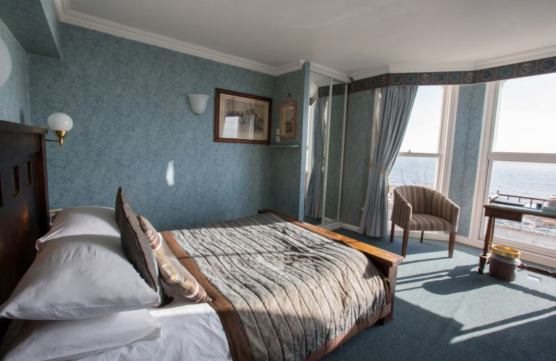 Guest room at Granville Hotel.