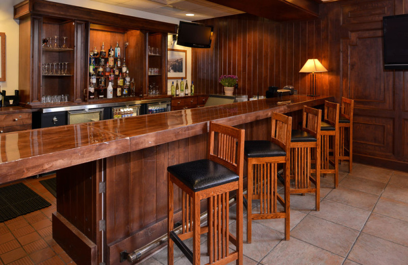 Bar at The Lodge at Big Sky.
