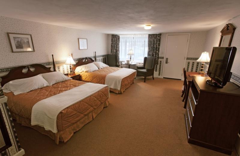 Guest room at Coachman Inn.