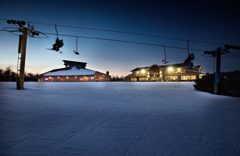 Exterior view of Big Powderhorn Mountain Resort.