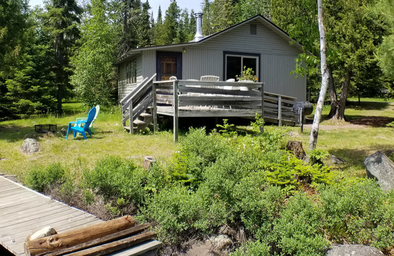 Cabin exterior at Nor'Wester Lodge