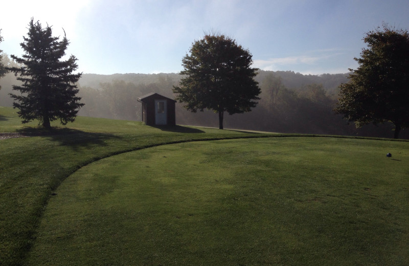 Golf course at Lenape Heights Golf Resort.