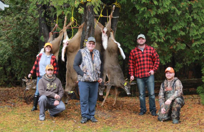 Deer hunting at Black Rock Resort.