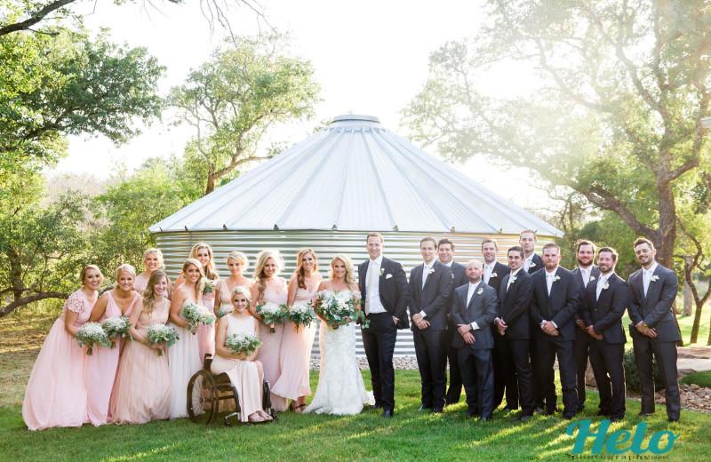 Weddings at Log Country Cove.