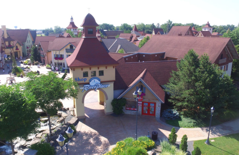 Shops at Bavarian Inn of Frankenmuth.