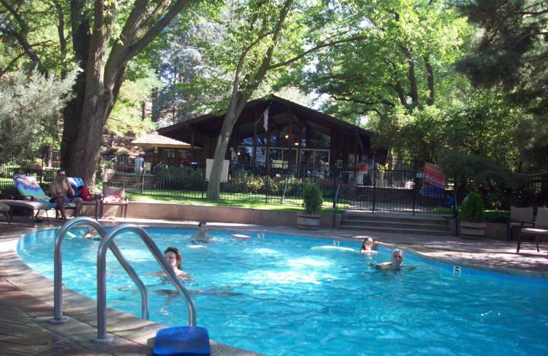 Pool at Rankin Ranch.