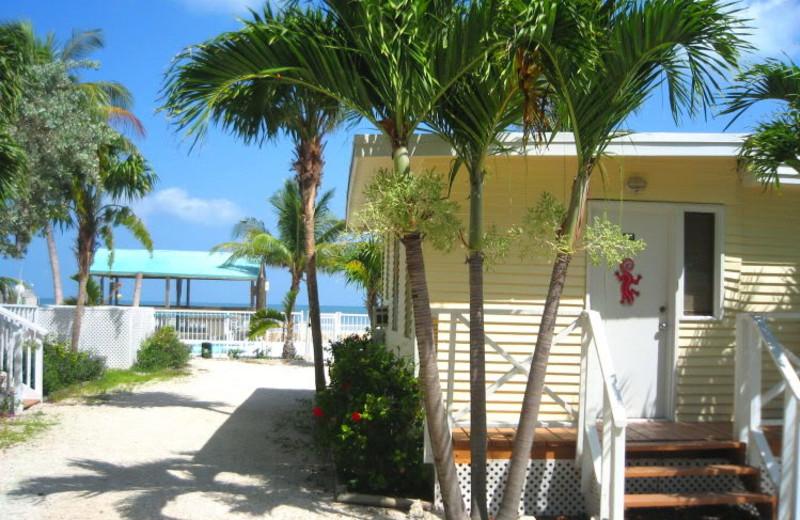 Cottage exterior at Bonefish Resort.