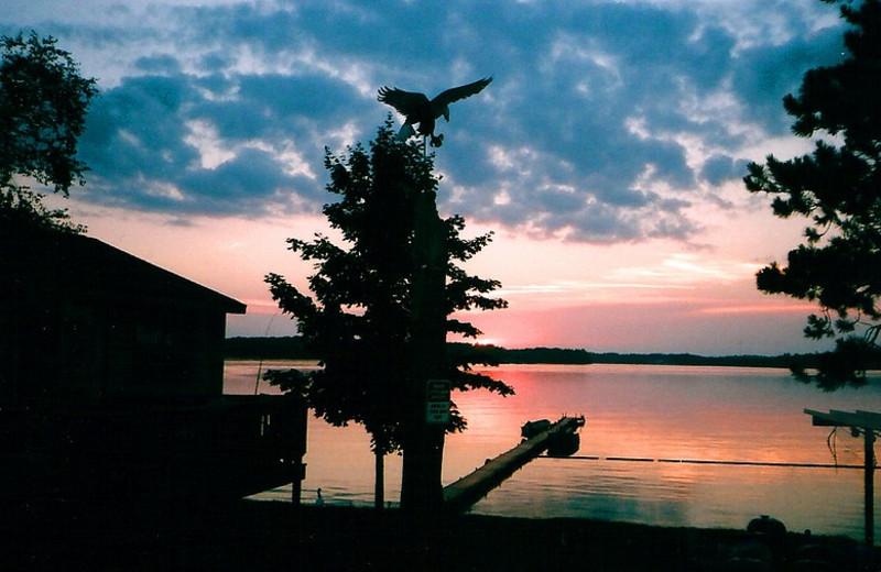 Sunset at Moonlight Bay.