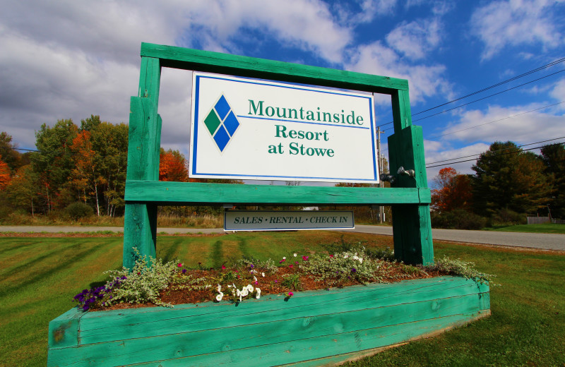 Welcome to Mountainside at Stowe.