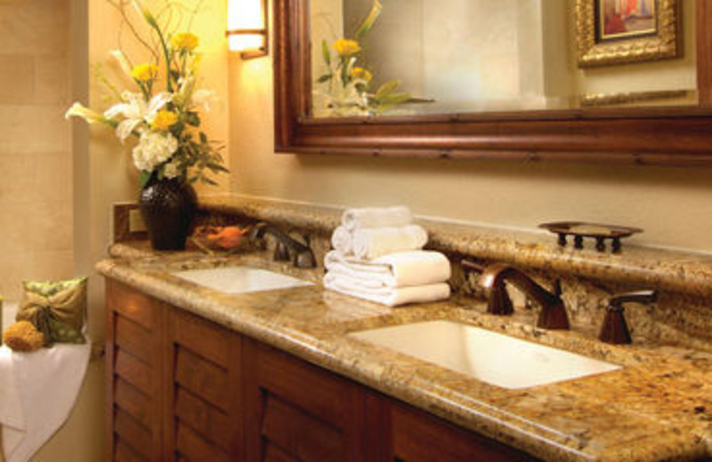 Guest Bathroom at Rancho Las Palmas Resort
