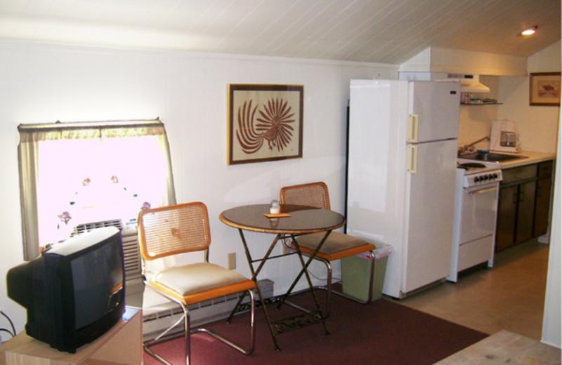 Interior Cottage View at Cove Ledge Inn