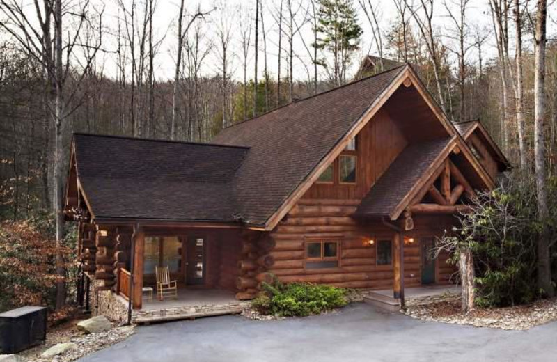 Vacation rental exterior at Stony Brook Chalets.