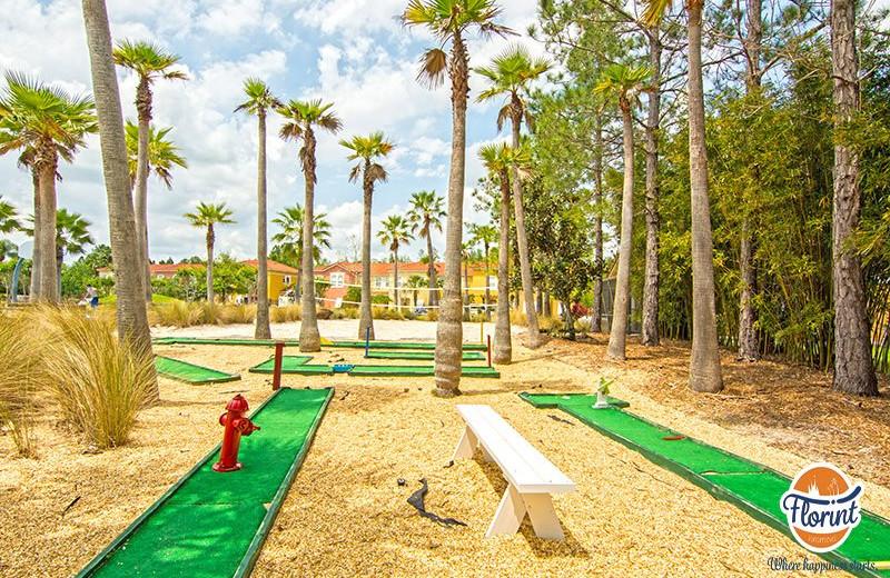 Rental mini golf at Florint Vacations.