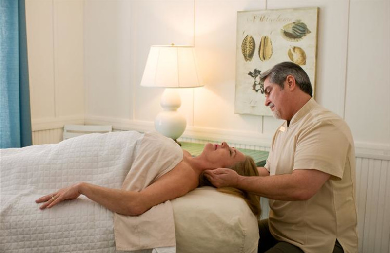 Spa massages at The King and Prince Beach Resort.