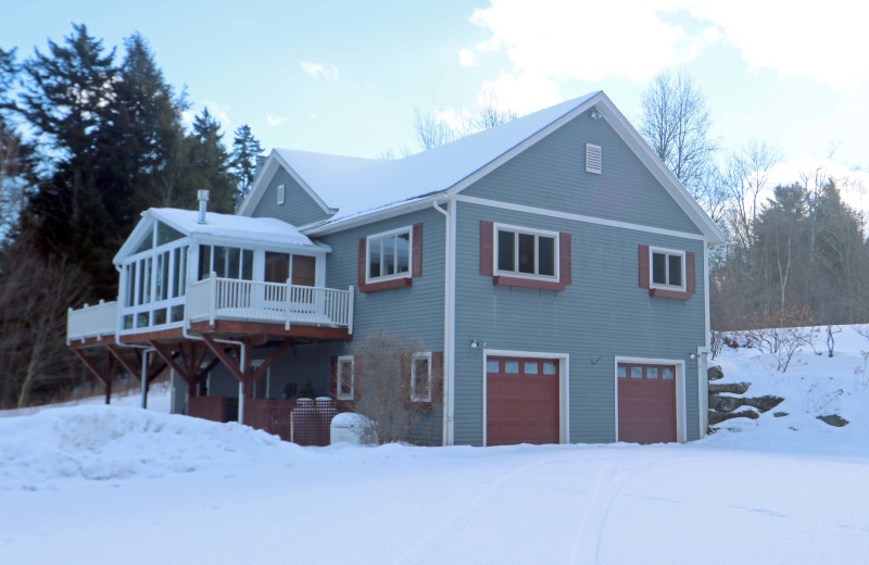 Rental exterior at Stowe Country Homes.