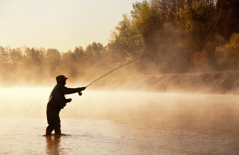 Fishing near SkyRidge Inn.