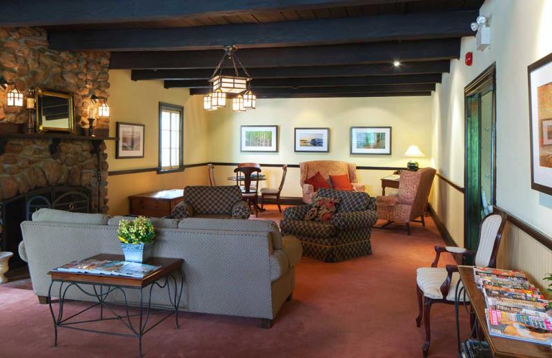Lobby at Sir Sam's Inn and WaterSpa.