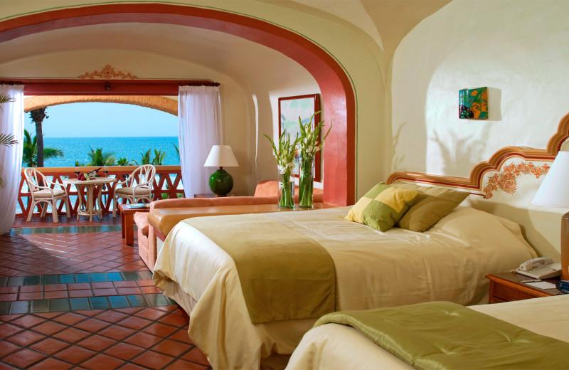 Guest room at Pueblo Bonito Mazatlán.
