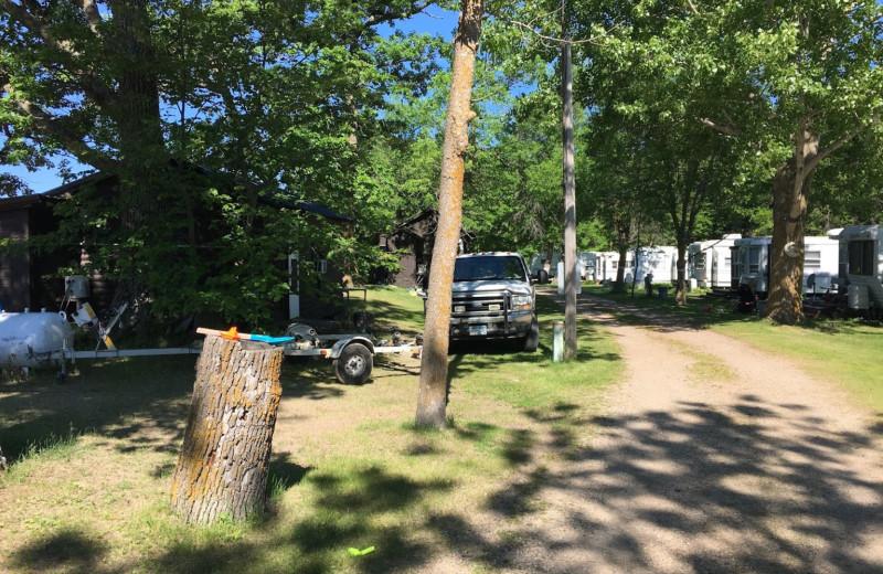 Campground at Ebert's North Star Resort.