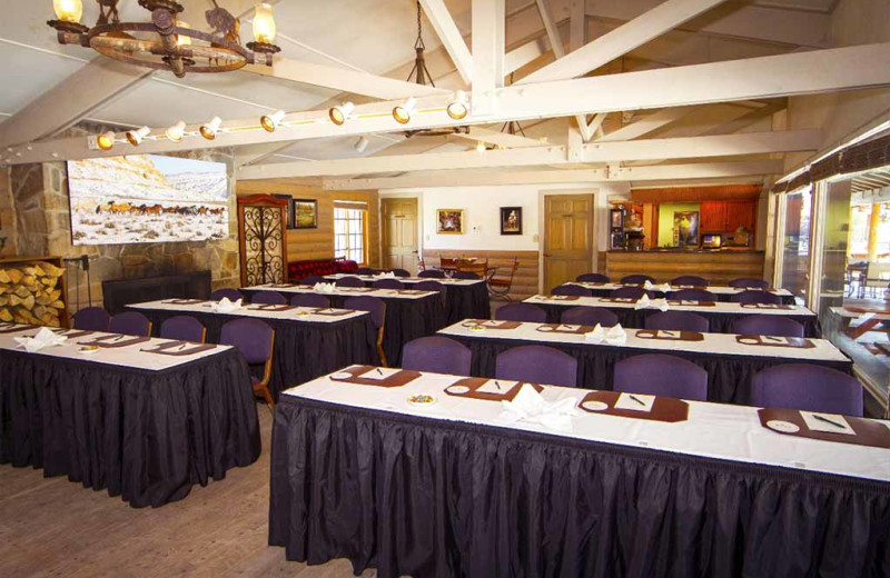 Meeting room at C Lazy U Ranch.