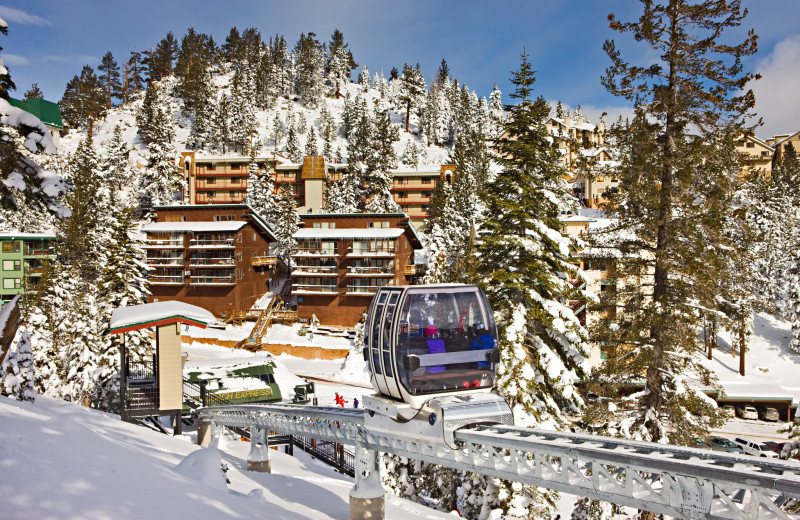Ski in/ ski out access to Heavenly Mountain at The Ridge Resorts.