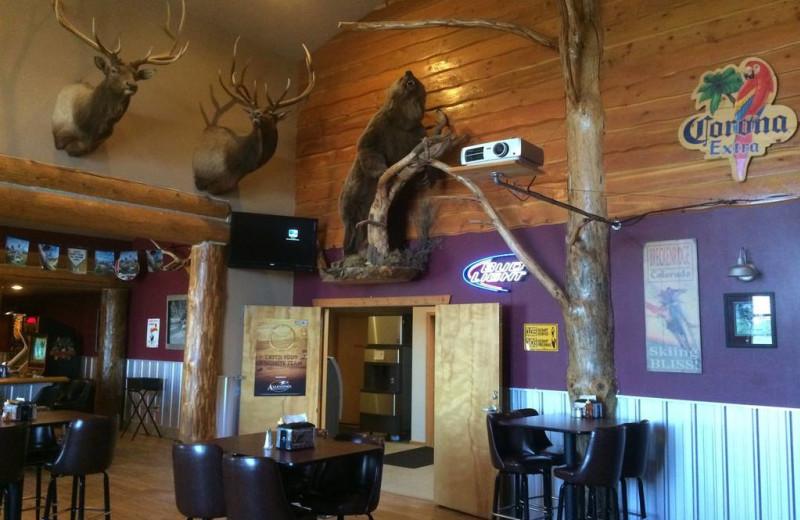 Dining at Ninepipes Lodge.