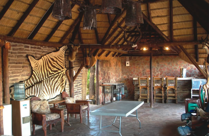 Lodge at Sandhurst Safaris.