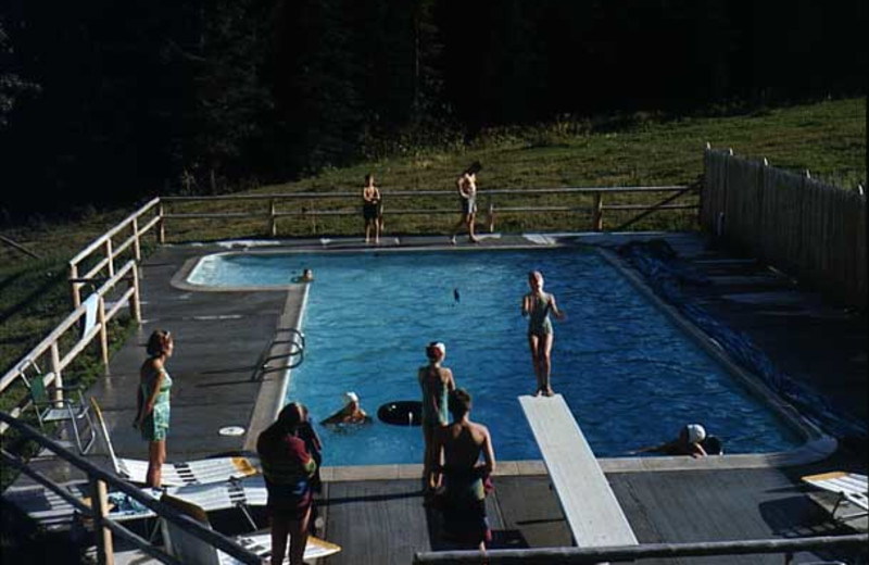 Outdoor pool at Trail Creek Ranch.