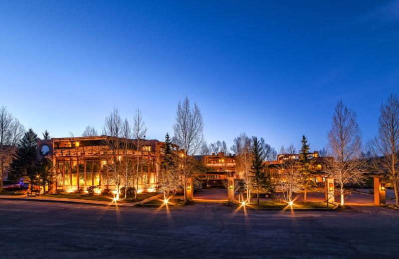 Exterior view of Chipeta Solar Springs Resort.