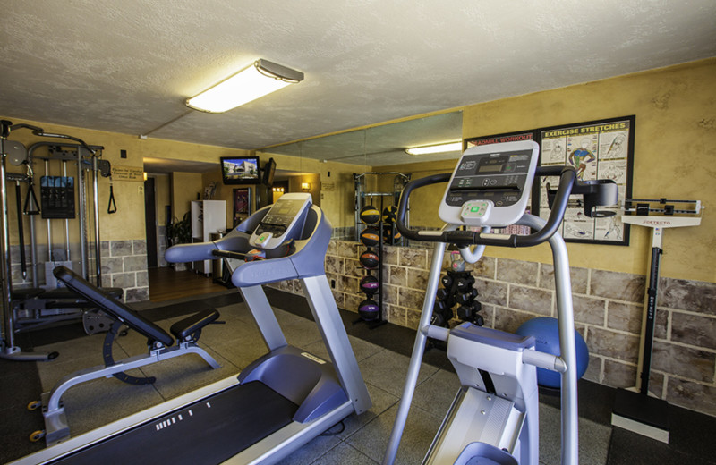 Fitness at Ramada Plaza Nags Head Oceanfront.