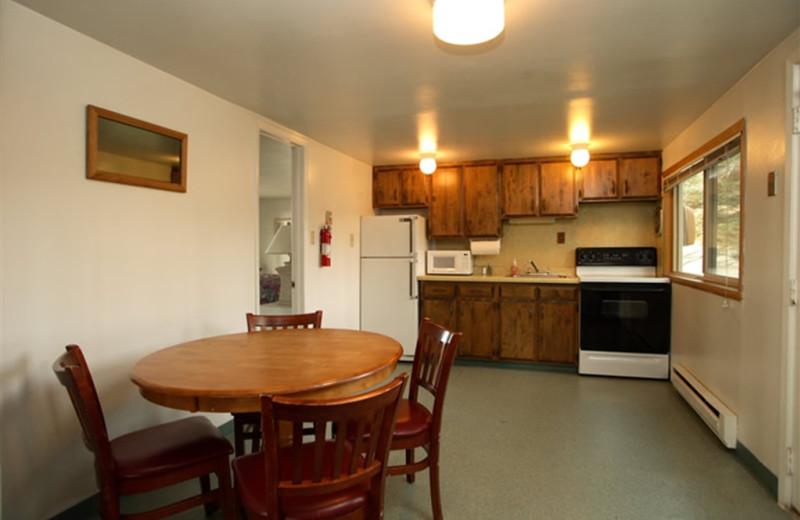 Guest kitchen at Sandpiper Beach Resort.