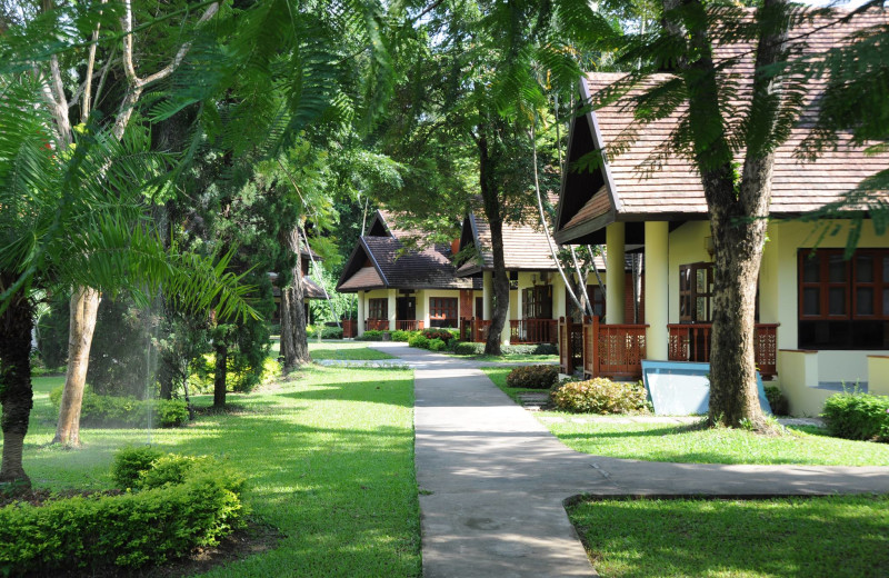 Exterior view of Suan Bua Resort and Spa.