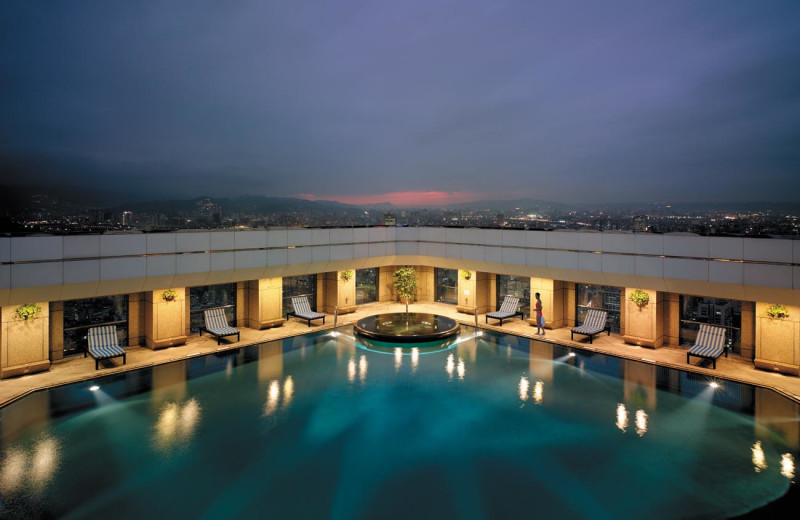 Outdoor pool at Shangri-La's Far Eastern Plaza Hotel.