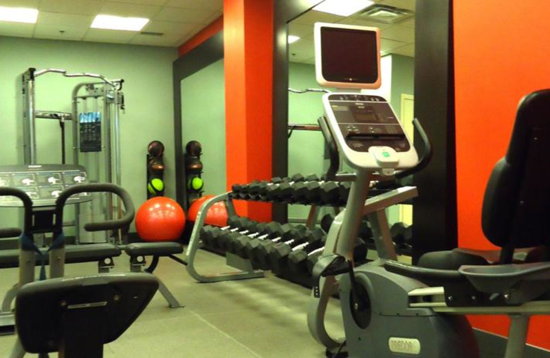 Fitness Center at the Comfort Suites City Centre