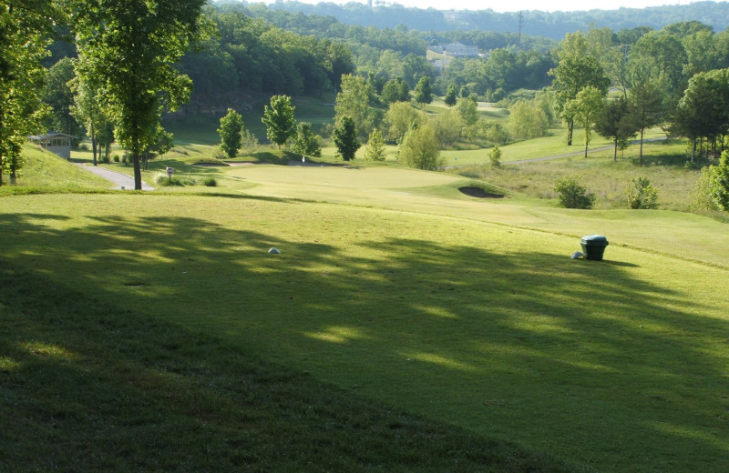 Thousand Hills Golf Course near White Wing Resort on Table Rock Lake.