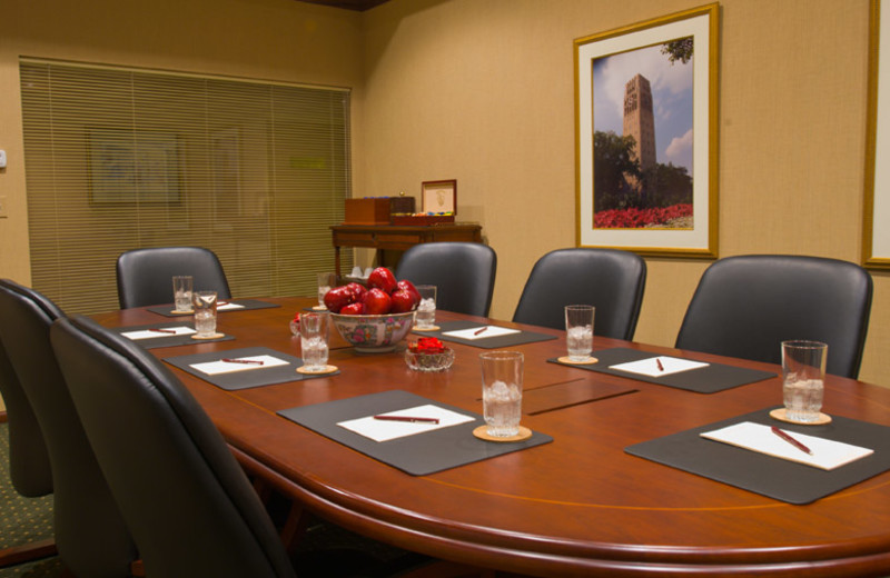 Meeting room at Bell Tower Hotel.