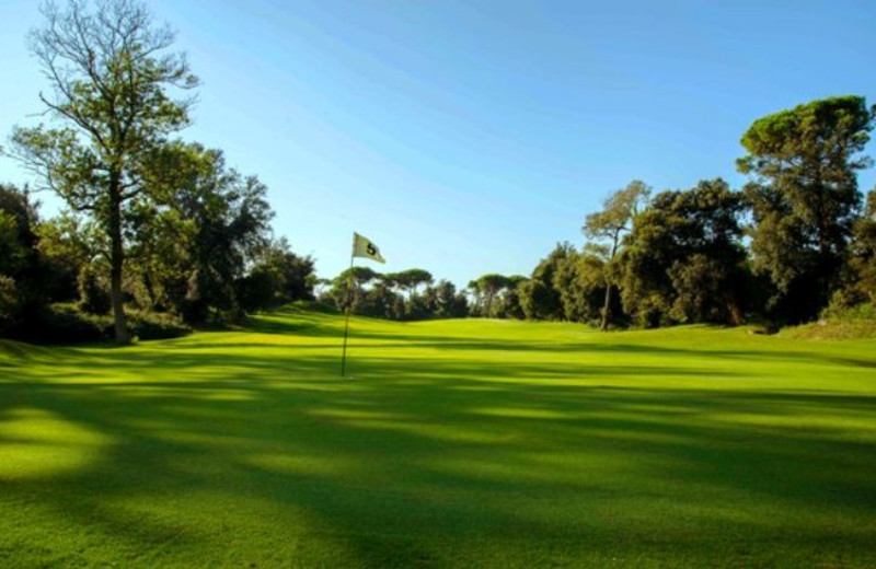 Golf course at Grand Hotel Golf.
