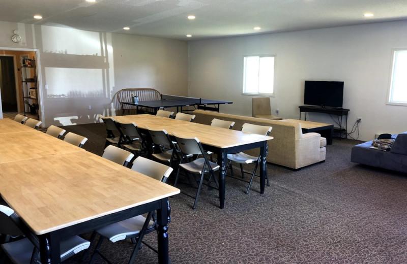 Meeting room at Hardscrabble Ranch.