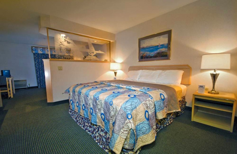 Guest room at Shilo Inn The Dalles.