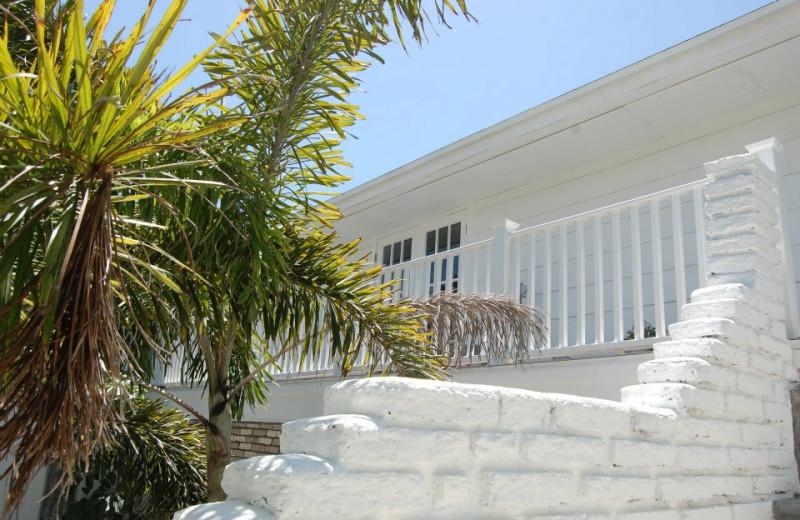 Rental exterior at Sunset Beach Resort.