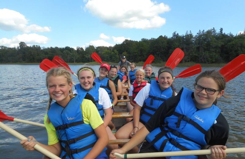 Group at Spicer Green Lake Resort.